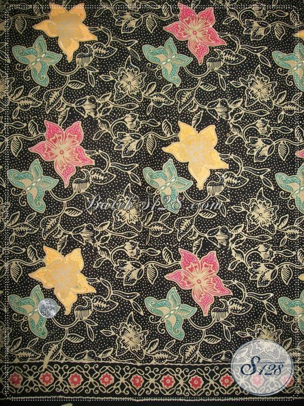 Toko Kain Batik Elegan,Kain Batik Motif Trendy WArna,Kain Batik Lilin [K1039CT]