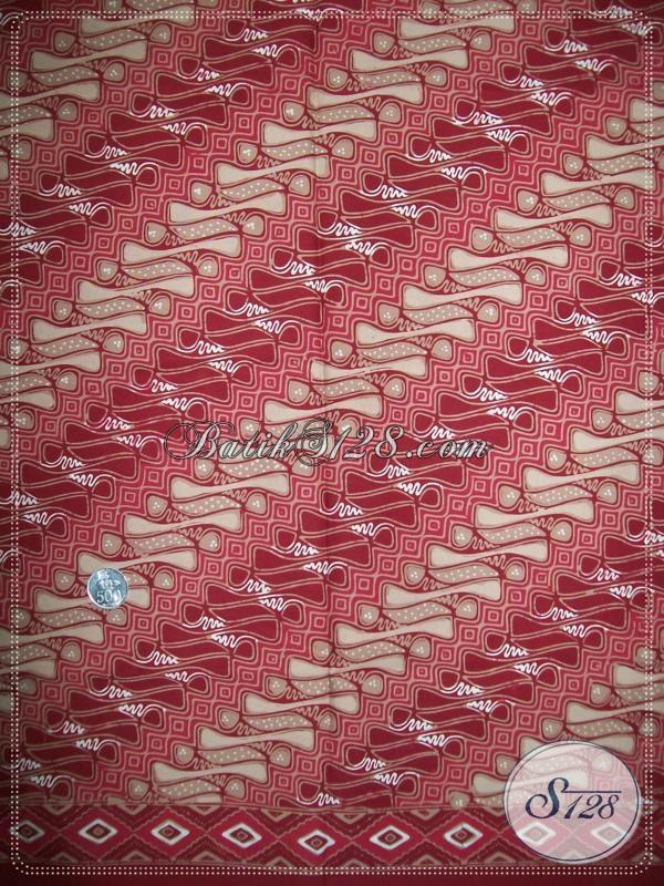 Motif BAtik Piyayi Solo,Batik Solo Bernuansa Modern [K1050CT]