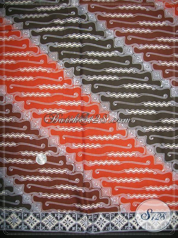 Toko Grosir Kain Batik Untuk Seragam Kantor [K1054CT]