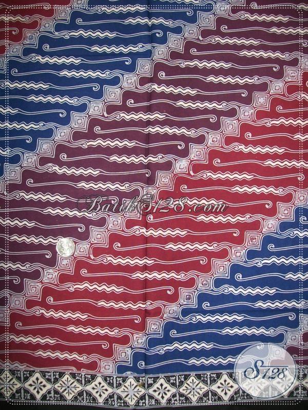 Kain Batik Untuk Kemeja BAtik Elegan Pria Masa Kini [K1058CT]