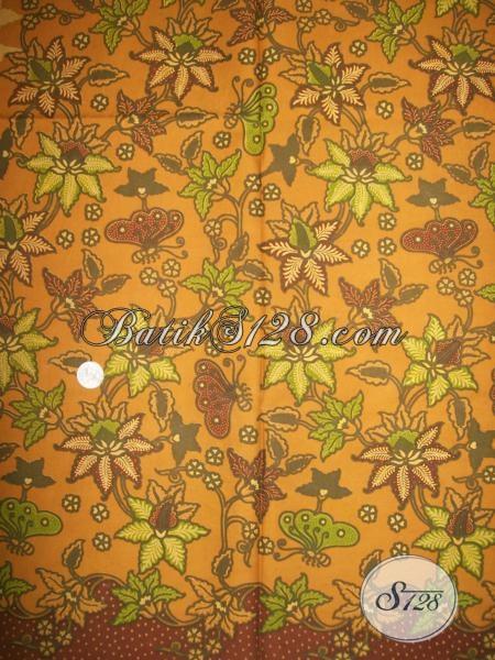 Kain Batik Elegan Untuk Dress BAtik Wanita Pegawai Bank [K1380P]