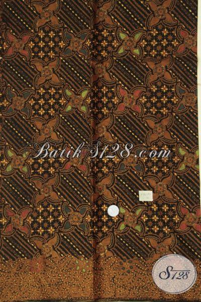 Toko Batik Online Jual Kain Batik Eceran Harga Grosir, Batik Bahan Busana Berkelas Motif Klasik Kwalitas Terjamin [K1528BT]