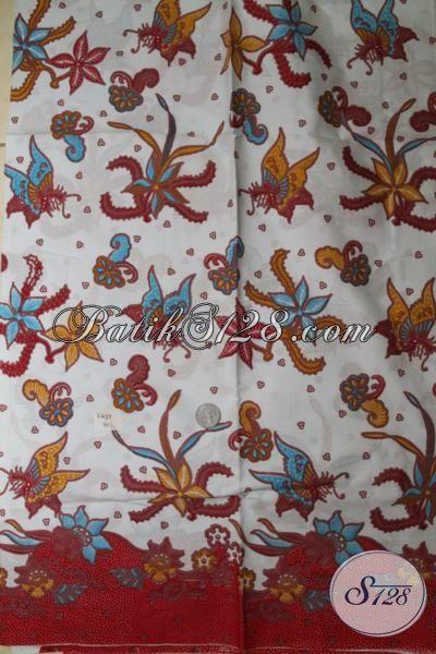 Butik Pakaian Batik Online Juga Sedia Kain batik Murmer Kwalitas Bagus, Batik Print Produk Solo Motif Modern Berbahan Halus Dan Adem [K1675P]