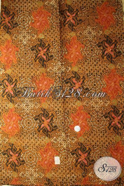 Toko Batik Online Paling Up To Date, Jual Kain Batik Klasik Yang Paling Banyak Di Cari Saat Ini, Batik Cap Tulis Halus Harga Terjangkau [K1747CT-240x110cm]
