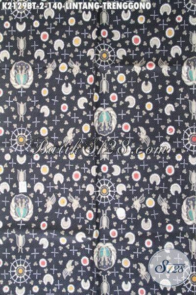 Kain Batik Kombinasi Tulis Berkwalitas Bagus Motif Lintang Trenggono, Cocok Buat Bahan Pakaian Santai Pria Muda Dan Dewasa [K2129BT-240×100 cm]