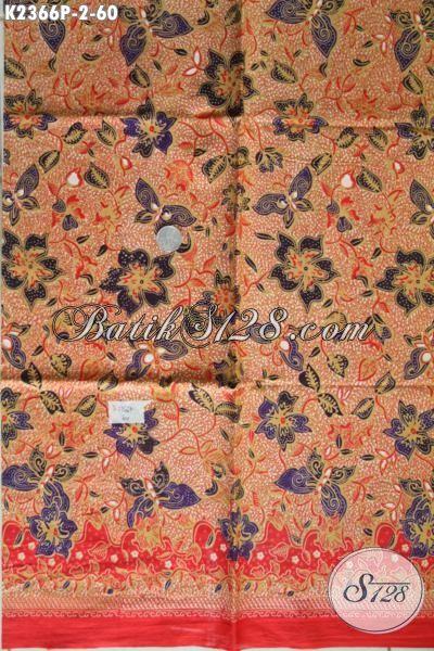 Produk Kain Batik Terbaru 2016 Istimewa Bahan Baju Blus Wanita Karir Untuk Tampil