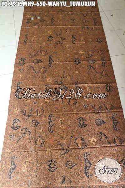 Batik Jawa Halus Kwalitas Istimewa, Batik Klasik Wahyu Tumurun Buatan Solo Proses Tulis Di Jual Online 650 Ribu [K2698TSMH-240x110cm]