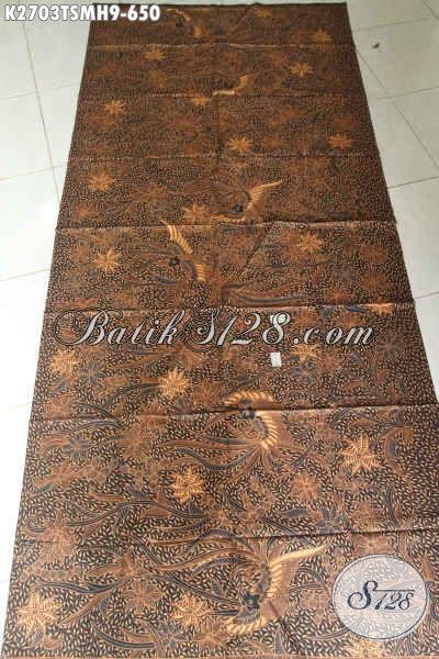 Kain Batik Bahan Baju Formal, Batik Halus Motif Klasik Proses Tulis Buatan Pengerajin Kampung Kwalitas Istimewa Harga 600 Ribuan [K2703TSMH-240x110cm]