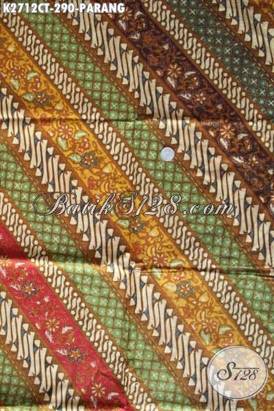 Batik Parang Modern, Produk Kain Batik Berkelas Proses Cap Tulis Kwalitas Premium Harga 290 Ribu [K2712CT-240x110cm]