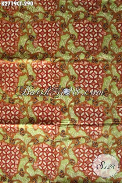 Produk Batik Kain Solo Terkini, Batik Cap Tulis Bahan Adem Kwalitas Bagus Hanya 290K [K2719CT-240x110cm]
