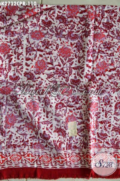 Batik Kain Parsi Motif Unik Bahan Busana Wanita Untuk Lebih Gaya Dan Mempesona Proses Cap [K2732CPR-180x110cm]