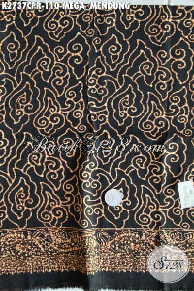 Batik Modis Bahan Paris Motif Mega Mendung, Kain Batik Elegan Dan Keren Proses Cap Di Jual 110K [K2737CPR-180x110cm]