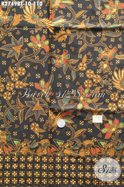 Batik Halus Mewah Harga Terjangkau, Kain Batik Jokowi Nan Istimewa Proses Kombinasi Tulis Hanya 110K [K2749BT-200x110cm]