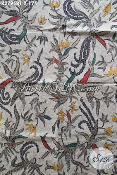 Produk Batik Istimewa, Batik Halus Istimewa Buatan Solo Motif Bagus Proses Kombinasi Tulis Harga 170 Ribuan [K2795BT-240x110cm]