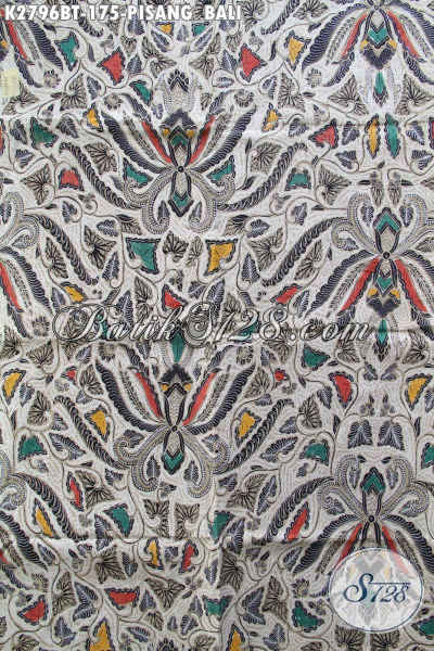 Kain Batik Bahan Pakaian Pria, Batik Kain Kombinasi Tulis Khas Jawa Tengah Untuk Busana Yang Berkelas [K2796BT-240x110cm]
