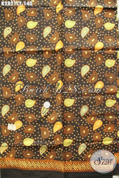 Koleksi Paling Batru Kain Batik Solo Proses Cap Tulis Motif Keren Warna Klasik Bahan Busana Pria Tampil Lebih Bergaya [K2821CT-200x110cm]