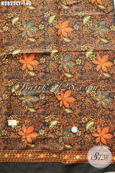Jual Online Produk Batik Solo Terlengkap, Sedia Juga Kain Batik Modern Motif Bagus Proses Cap Tulis Bahan Busana Santai Dan Resmi Harga 100 Ribuan [K2822CT-200x110cm]