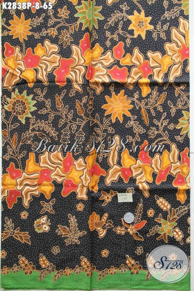 Batik Solo Trend Motif Masa Kini, Produk Kain Batik Jawa Tengah Halus Proses Printing Bahan Pakaian Murah Kwalitas Mewah [K2838P-200x110cm]