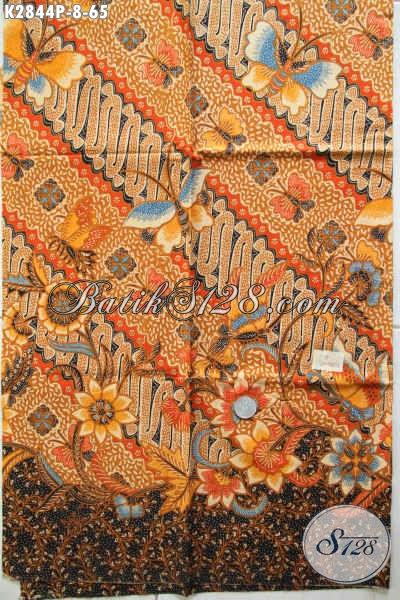 Kain Batik Jawa Tengah Etnik, Batik Printing Istimewa Proses Printing Kwalitas Halus Hanya 60 Ribuan [K2844P-200x110cm]