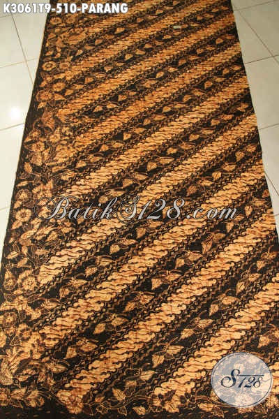 Batik Klasik Premium, Batik Motif Parang Berkelas Bahan Pakaian Pria, Cocok Untuk Kerja Rapat Maupun Kondangan [K3061T-200x110cm]