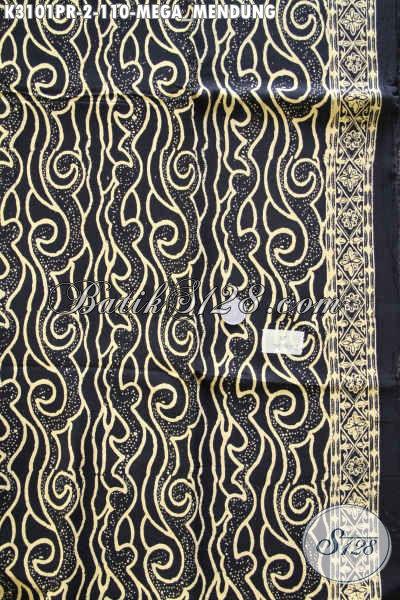 Cari Kain Batik Solo Online, Batik Halus Motif Mega Mendung Bahan Paris Untuk Busana Berkelas Dan Modis Hanya 110 Proses Cap [K3101PR-180x110cm]