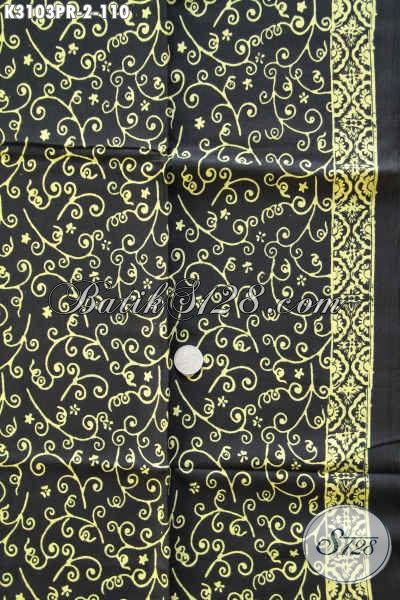 Batik Paris Solo Motif Terkini Proses Cap, Kain Batik Modis Harga 110K Kwalitas Halus, Penampilan Makin Mempesona [K3103PR-180x110cm]