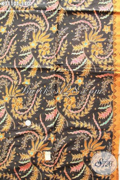 Jual Kain Batik Premium Motif Klasik, Batik Tulis Mewah Bahan Busana Kesukaan Pejabat Dan Eksekutif Harga 540K [K3110T-240x115cm]