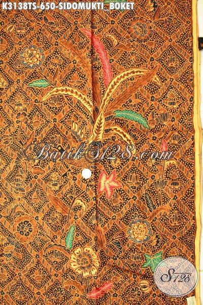 Batik tulis corak sidomukti boket
