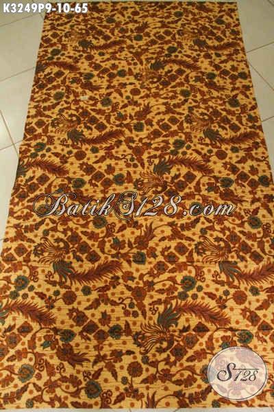 Batik Solo Halus Motif Terbaru Cocok Untuk Pakaian Kerja Wanita Karir, Batik Istimewa Dengan Harga Biasa Proses Printing [K3249P-200x115cm]