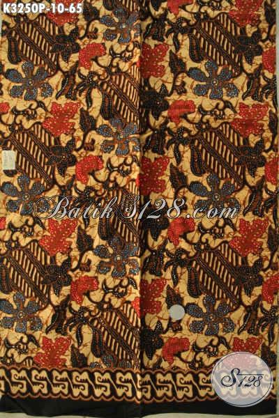 Jual Online Eceran Dan Grosir Batik Printing Halus Bahan Pakaian Kerja Dan Santai, Asli Buatan Solo [K3250P-200x115cm]