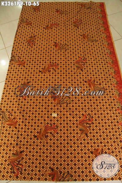Jual Produk Kain Batik Motif Klasik Nan Istimewa, Batik Printing Solo Jawa Tengah Untuk Pakaian Kerja Dan Rapat Hanya 65K