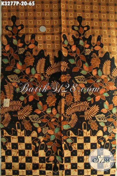 Aneka Kain Batik Motif Mewah Dengan Sentuhan Klasik Nan Elegan, Batik Printing Halus Khas Jawa Tengah, Cocok Banget Untuk Seragam Kerja [K3277P-200x115cm]