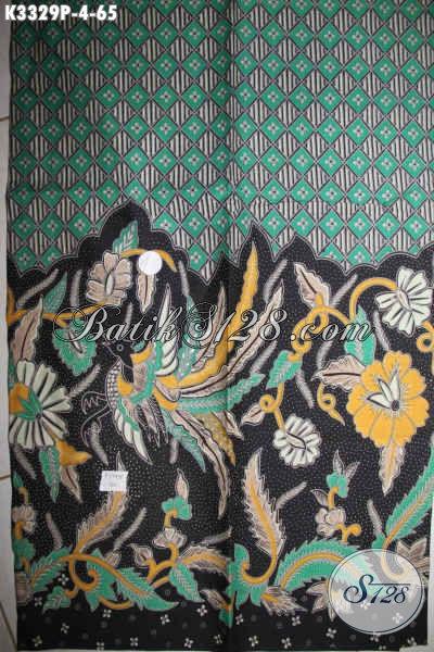 Kain Batik Untuk Busana Kerja Pria, Batik Halus Proses Printing Motif Elegan Kwalitas Istimewa, Cocok Juga Untuk Pakaian Wanita Kerja Wanita Karir [K3329P-200x110cm]