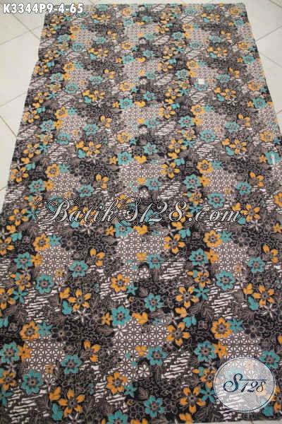 Jual Produk Kain Batik Solo Motif Mewah Bahan Busana Pria Lengan Pendek Kwalitas Bagus Harga Murmer, Cocok Juga Untuk Blus Wanita Muda Dan Dewasa
