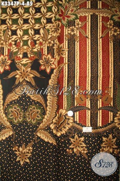 Kain Batik Bagus Motif Mewah Proses Printing, Batik Solo Asli Bahan Aneka Busana Pria Lengan Panjang Dan Pendek Nan Berkelas, Cocok Juga Untuk Pakaian Wanita