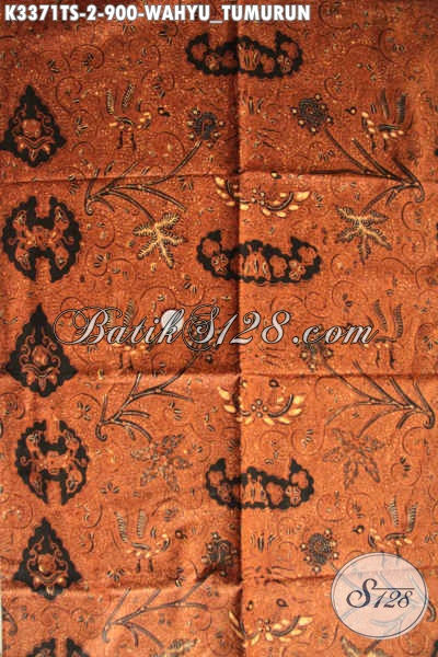 Batik Tulis Wahyu Tumurun Warna Soga Khas Solo