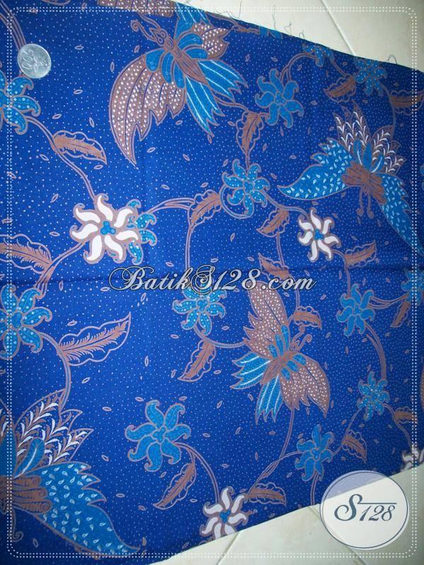 Bahan Batik Murah Motif Kupu Full Granit Dengan Warna Yang Banyak Disukai [K803P]