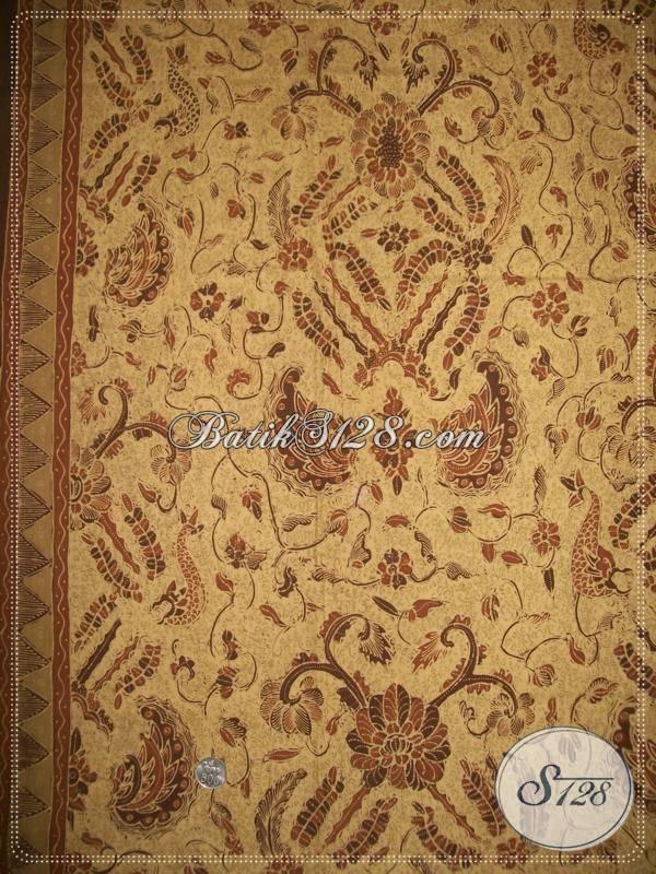 Beli Batik Tulis Pewarna Alam Disini, Kualitas Bagus, Bahan Halus Katun Primis [K956TA]