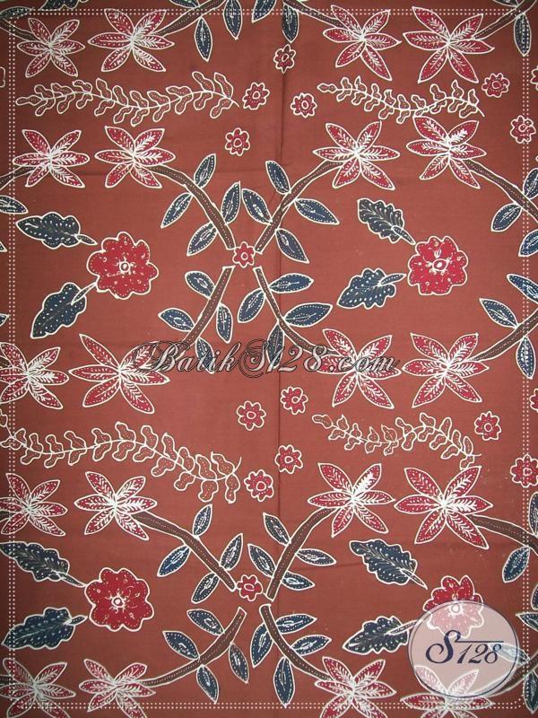 Kain Batik Tulis Untuk Busana Batik Elegan Wanita Modern [K988T]