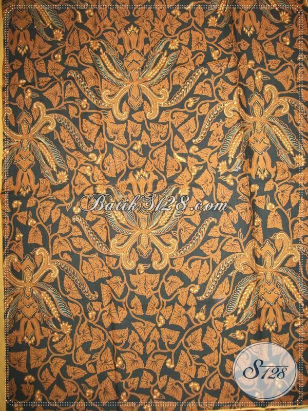 Kain Jarik BatikSolo Pisang Bali Latar Ireng