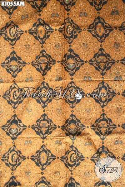 Kain Batik Klasik Motif Sidodadi, Halus Proses Kombinasi Tulis Buatan Solo Asli, Batik Bahan Busana Formal Wanita Dan Pria Buat Kerja Dan Kondangan [KJ055AM-240×110 cm]