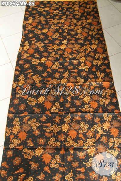 Kain Batik Halus Proses Kombinasi Tulis, Batik Solo Bahan Jarik Kwalitas Bagus Harga Murmer [KJ085AM-240x105cm]