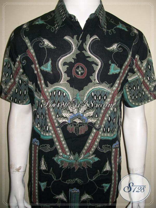Busana Batik Pria Ukuran M, Motif Elegan Dan Keren [LD1002T-M]