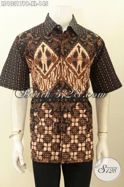 Model Baju Batik Pria Dewasa Size XL Motif Klasik, Pakaian ...