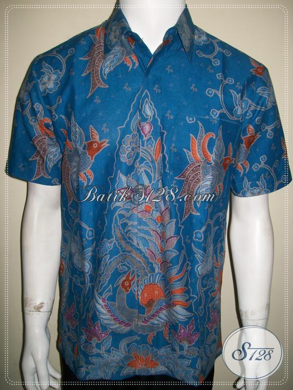 Jual Baju Batik Solo Murah Online Terpercaya Amanah [LD1050P-M]