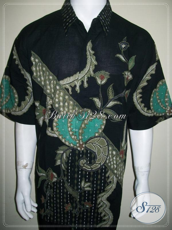 Baju Batik Pria Ukuran Besar, Big Size XXL Jumbo, Motif Modern [LD1077T-XXL]