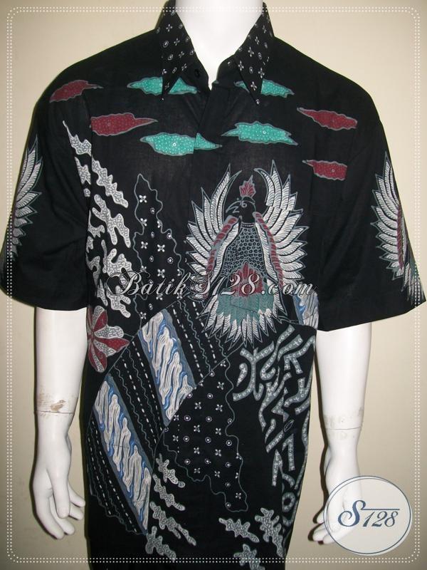 Batik Super Jumbo Pria Modern, Ukuran L4 atau XXXL, Keren Dan Elegan [LD1080T-XXXL]