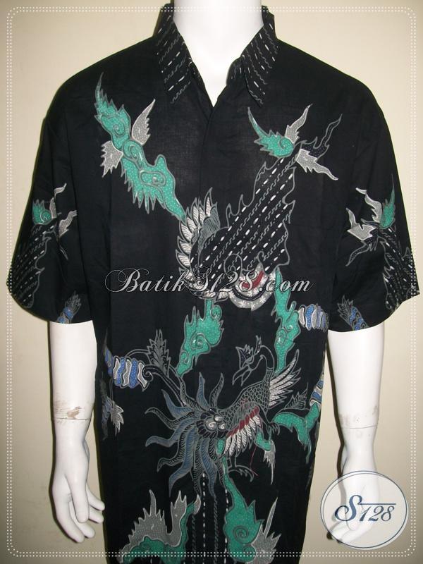 Kemeja Batik Super Gede Jumbo Big Size, Batik Tulis Online Exclusive Solo [LD1082T-XXXL]