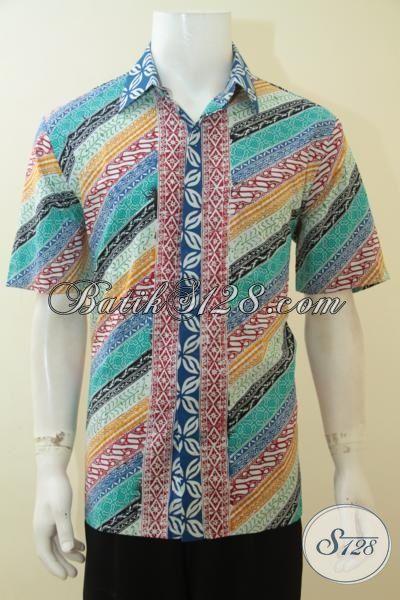 Pakaian Batik Pria Muda Dengan Desain Motif Parang Paling ...