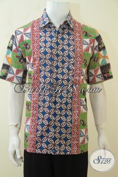 Kemeja Batik Desain Motif Masa Kini Yang Banya Di Sukai ...